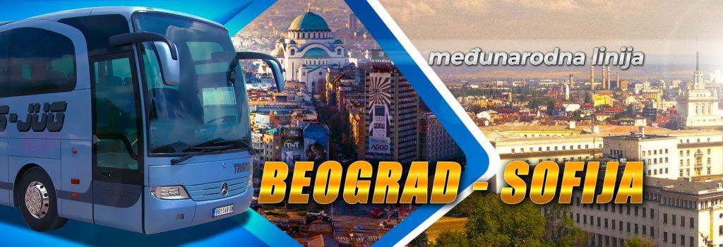 Redovna međunarodna autobuska linija Srbija – Bugarska